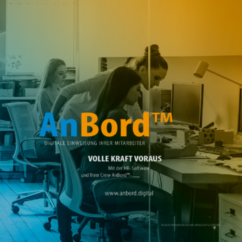 AnBord™, Digitale Einweisung ihrer Mitarbeiter