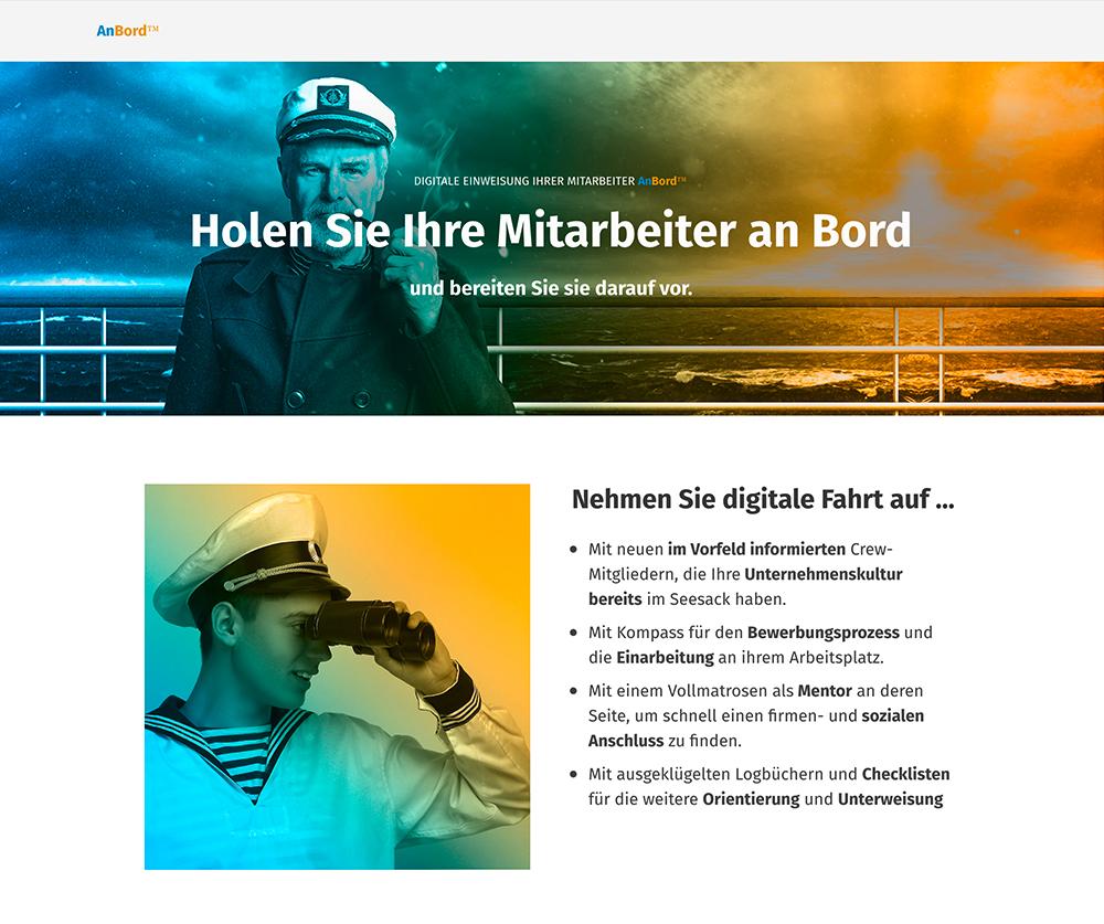 Landingpage für KMUs (HR)