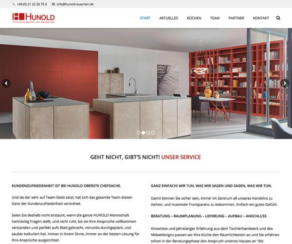 WordPress: Küchenstudio